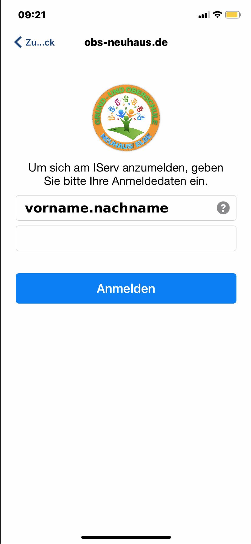 app_einloggen_II
